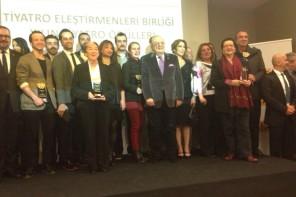 TEB ( Tiyatro Eleştirmenleri Birliği) 2015 Tiyatro ödülleri Sahiplerini Buldu